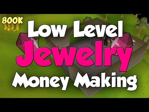 Great Crafting Money Making For Low Levels! [OSRS]