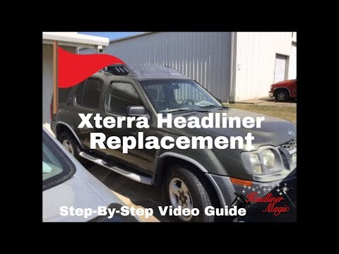How To Fix a Sagging Headliner – 2004 Nissan Xterra Complete Process