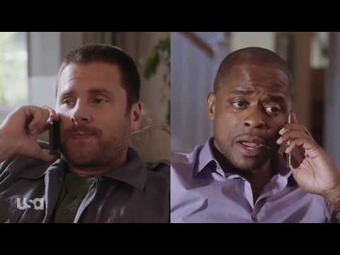 Psych: The Movie | James and Dulé getting in shape