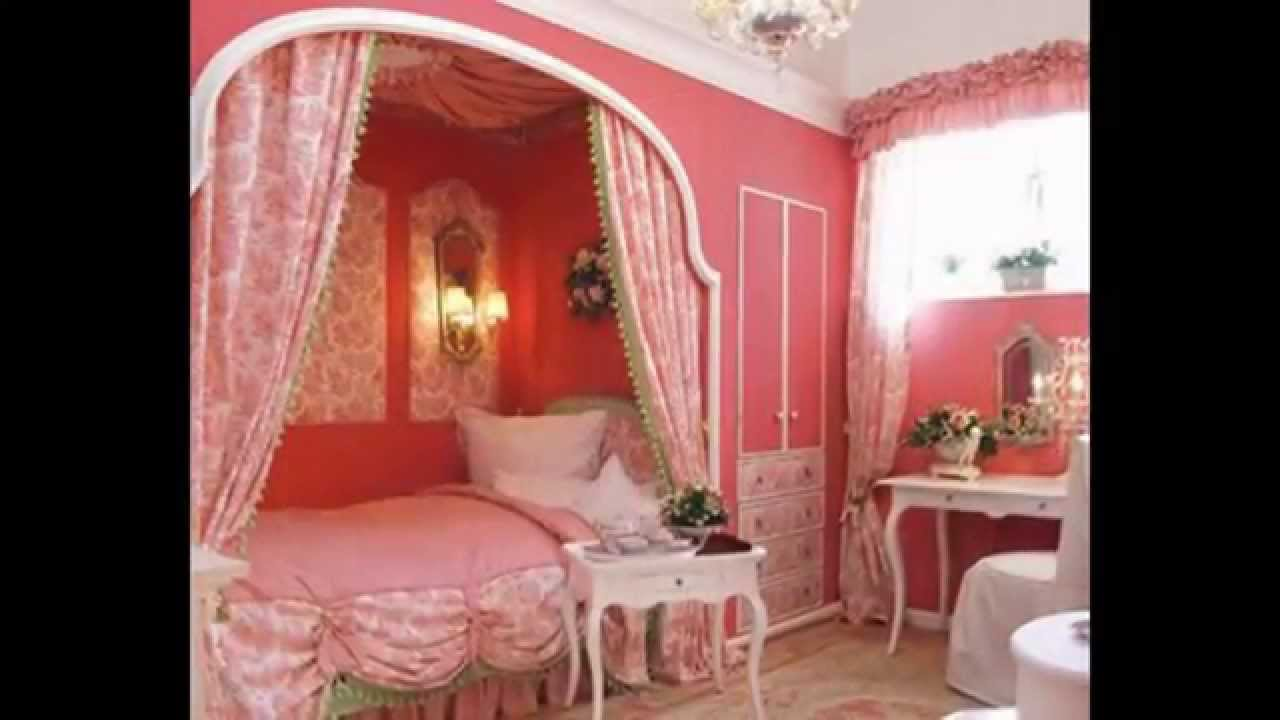 & Bedroom Sets | Girl Bedroom Canopy - YouTube