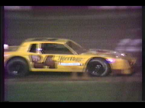 Dixie Speedway Racing Action 1990's!