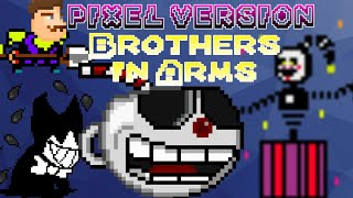 Cuphead: Brothers in Arms(Pixel version-8bit)| ANIMATION