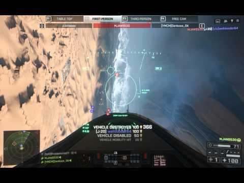 MJANS530 Battlefield 4 best jet aim hacker ever