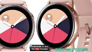 Samsung Galaxy Watch Active 2019 Full Specifications