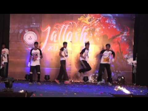Hip Hop Dance Performance in Jallosh 2013   Mallikarjun & Group   KIT College   Kolhapur