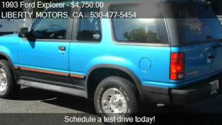 1993 Ford Explorer Sport 4WD - for sale in Grass Valley, CA