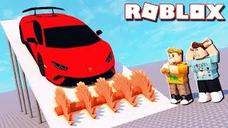 Roblox Adventures - SHRED YOUR OWN SPORTS CAR IN ROBLOX! (Car Crushers 2)