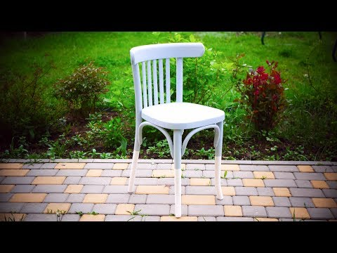 Как покрасить венские стулья своими руками