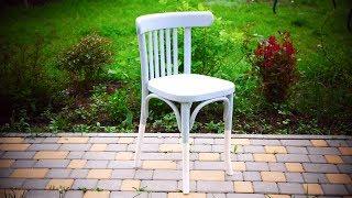 как реставрировать стул своими руками  Покраска венского стула. Современные идеи DIY