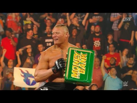 Money in the Bank: Brock Lesnar ruined everything