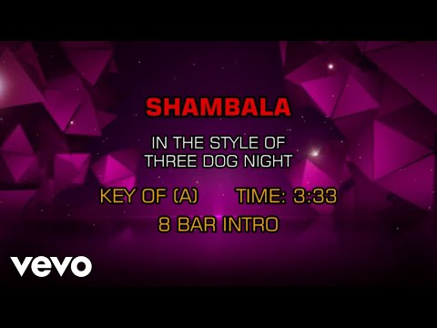 Three Dog Night - Shambala (Karaoke)