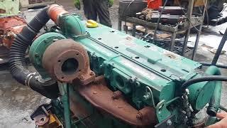 Motor Deutz BF 6 M 1013 EC 174 kw 2300 rpm engine test cold start 6 cylinder turbo Matadotti SRL