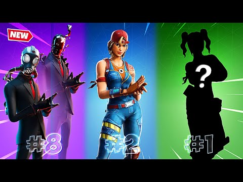 Top 10 Sweaty Tryhard Skins That *PRO* Players Use In Fortnite Chapter 2