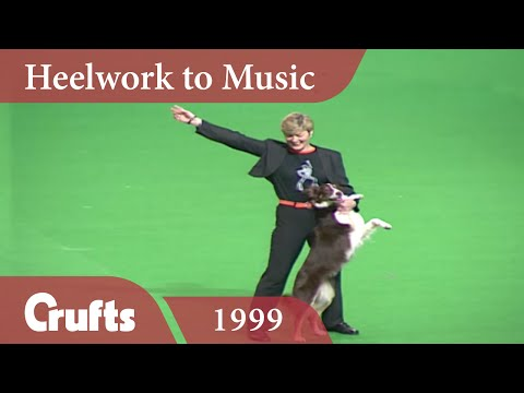 Heelwork To Music - Mary Ray's 1999 Performance | Crufts Classics