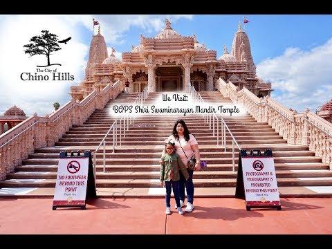 Visiting The Hindu Temple in Chino Hills / BAPS Shri Swaminarayan Mandir