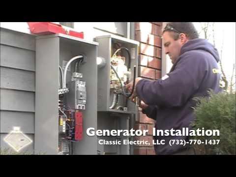 Generac 20 Kilowatt Standby Generator Installation - YouTube