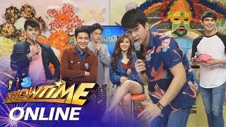 "It's Showtime Online: Joshua, Loisa and Jerome choose between ""Iniiwan"" and ""Nang-iiwan"""