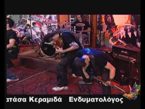 Psycho Choke live on Radio Arvyla TV Show Get myself alone