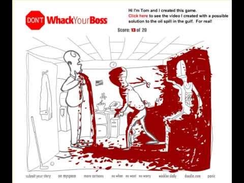 Необычные игры-20 способов убить босса