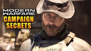 Modern Warfare Campaign Secrets