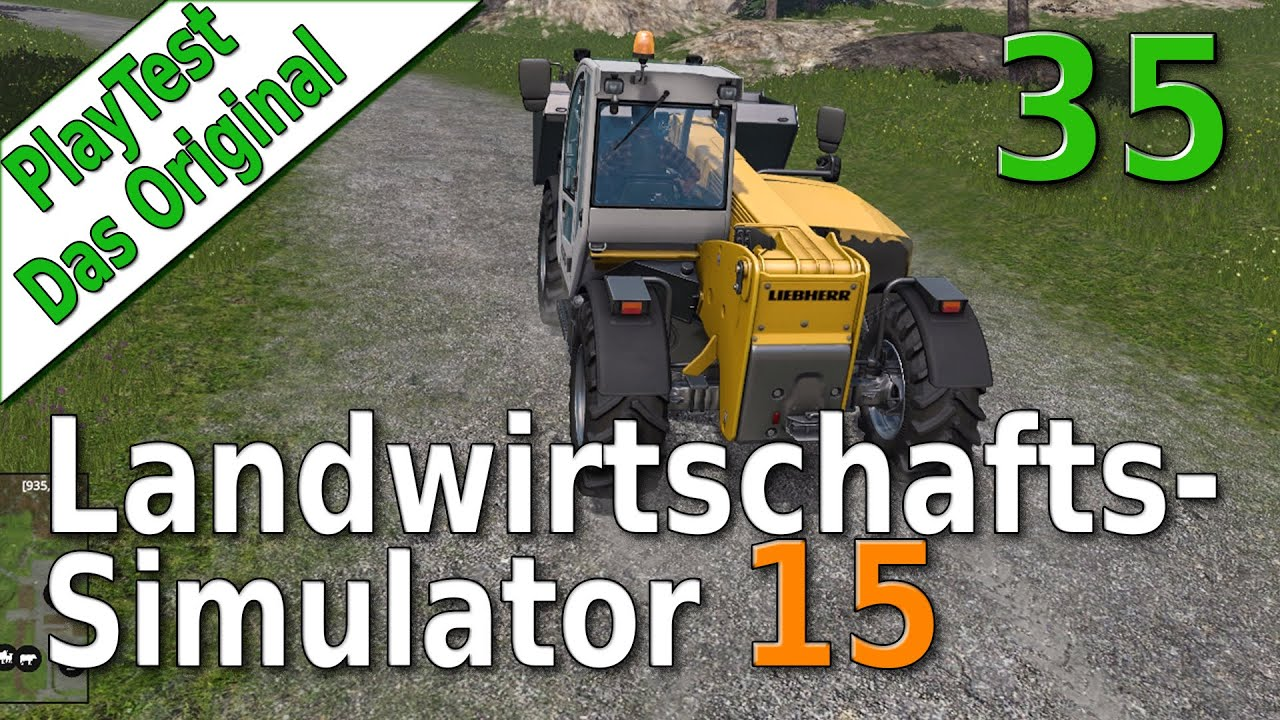 ls15 playtest 35 der teleskoplader test landwirtschafts simulator 15 deutsch hd youtube. Black Bedroom Furniture Sets. Home Design Ideas