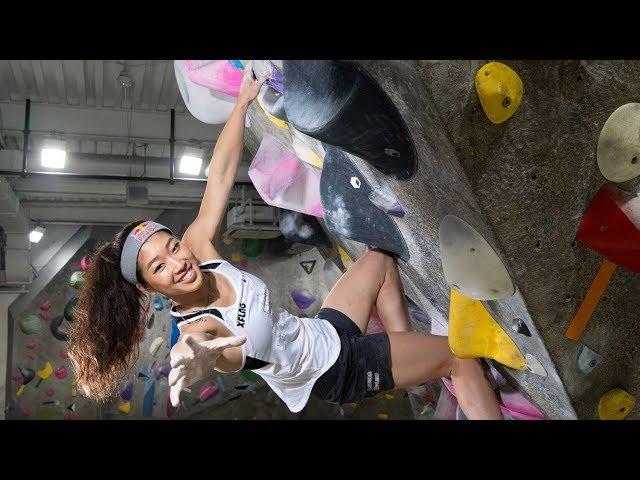 ケガに苦しむボルダリングの女王 五輪かかる世界選手権