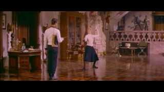 Fencing lesson. The Swan 1956, Grace Kelly