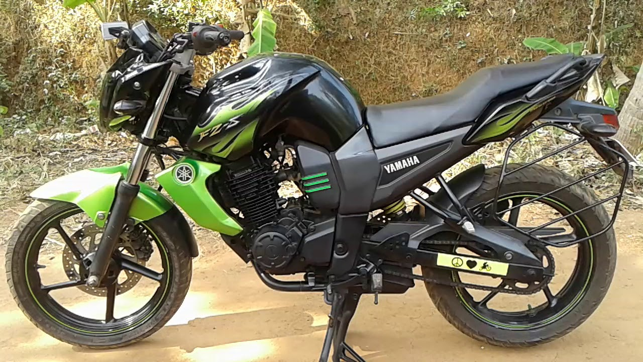 Yamaha fz modified bike 2018 kozhikode perambra kalpathur