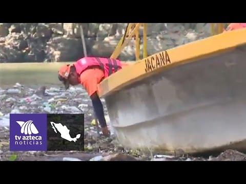 El Cañón del Sumidero plagado de basura | Azteca Chiapas