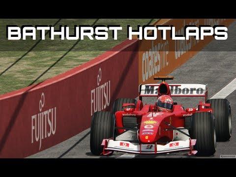 OBLITERATING LAP RECORDS! V10 F1 Car Mod Hotlaps at Bathurst in Assetto Corsa