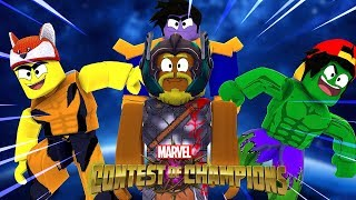 MARVEL CONTEST OF CHAMPIONS - Roblox adventures