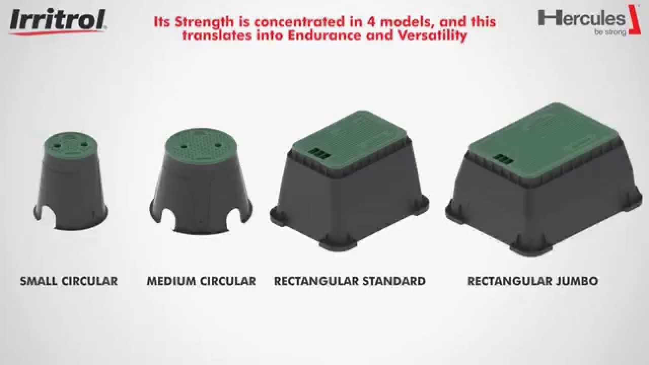 Hercules irrigation valve box eng youtube sciox Images