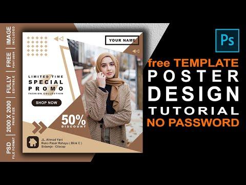 Cara membuat Poster di Photoshop | Social Media Post Banner | Tutorial Photoshop Indonesia