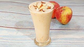 Apple Milkshake Recipe   How to Make Apple Milkshake   Apple Smoothie with Milk   Apple Shake