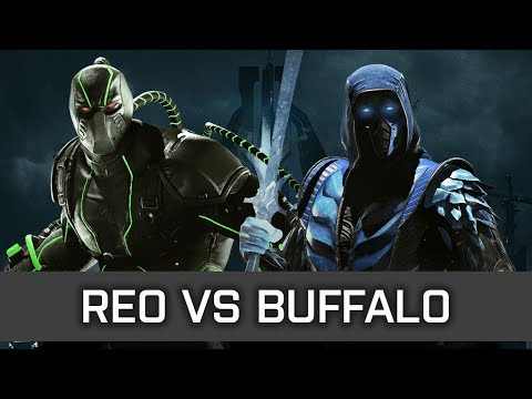 Injustice 2 - High Level FT10 - Reo (Bane) vs Buffalo (Sub Zero)