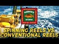 Spinning VS. Conventional - Conventionals better for grouper   http://www.HubbardsMarina.com