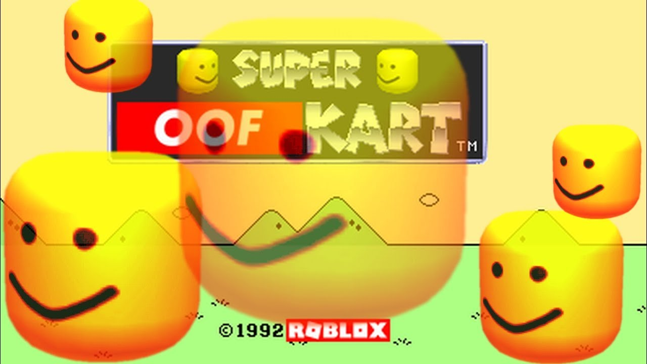 Super Oof Kart - Mario Circuit (Roblox death sound remix) Chords