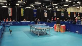 2019 CWG - Table Tennis - Men's/Women's Singles - Table 1