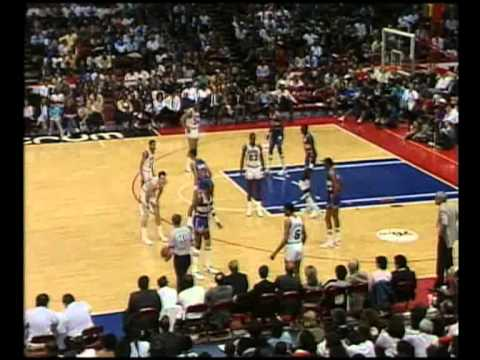 Bullets Score 18 Consecutive, Come Back and Win (1986 Playoffs)
