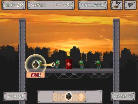 zomblast walkthrough levels 1935 youtube