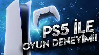 PS5 VE YENİ KOL İLE İLK OYUN DENEYİMİ!