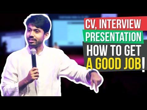 How to get a better job   Ayman Sadiq