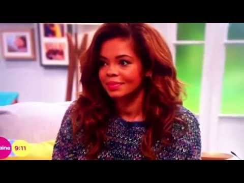 Loraine: fire alarm interview with X factor Stephanie nala interrupted to evacuation call 20/10/2014