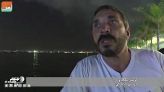 """بالفيديو.. الألعاب النارية تضيء سماء """"ريو"""" كل مساء"""