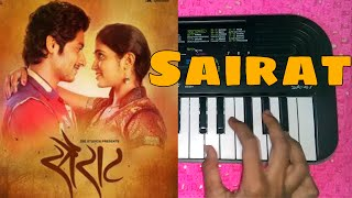 SAIRAT MARATHI MOVIE SONG PIANO TUTORIAL