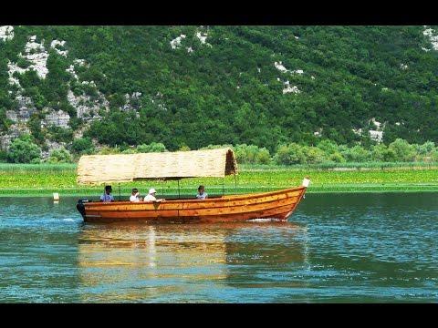 Круиз по Скадарскому озеру в Черногории. Cruise on Lake Skadar in Montenegro