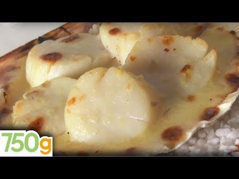 recette-de-coquilles-st-jacques-gratinées---750g