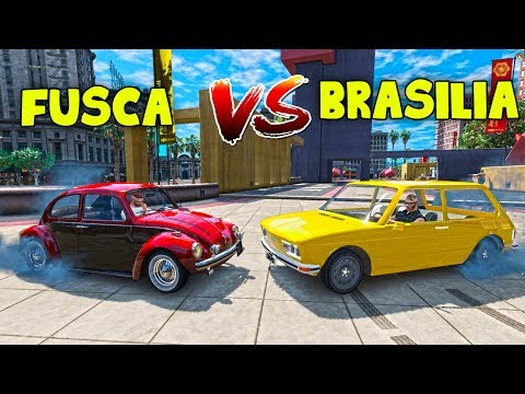 QUAL É MELHOR ? - FUSCA VS BRASILIA !! #38