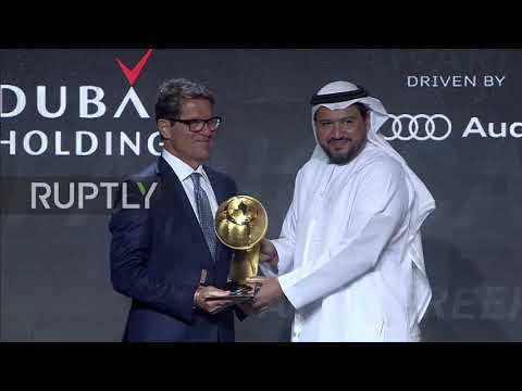 UAE: Cristiano Ronaldo, Didier Deschamps and more recognised at Globe Soccer Awards