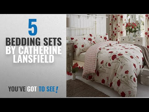 Top 10 Catherine Lansfield Bedding Sets [2018]: Catherine Lansfield Reversible Quilt Duvet Cover